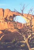 Arches National Park - arch prior to collapsing