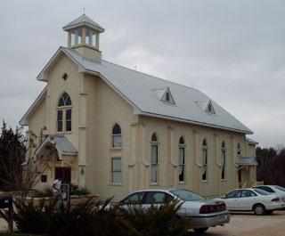Round Top Library, formerly a Lutheran Church
