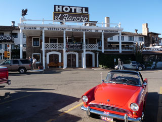 Hotel El Rancho, home of the movie stars in Gallup, NM