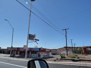 Dairy Queen in Holbrook, Az. along Route 66
