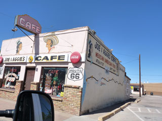 Joe and Aggie's in Holbrook, Az. along Route 66