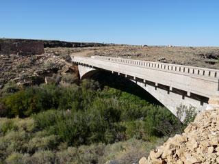 Original Route 66 bridge
