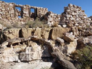 Ruins at Two Guns along Route 66