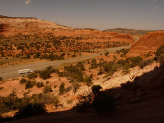 View from Wilson Arch