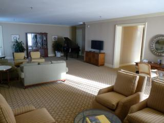 Inside the Presidential Suite on the 28th Floor