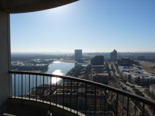 From our balcony at the Omni Mandalay with Dallas on the horizon in the distance