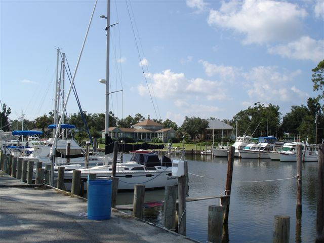 Ocean Springs waterfront