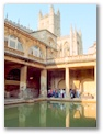 The Roman baths of Bath, England (of course)
