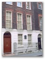 Benjamin Franklin House, the only surviving house that Franklin lived in