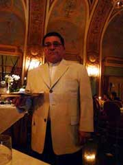 Carlos at the French Room, the ultimate in fine dining in Dallas and located at the Adolphus