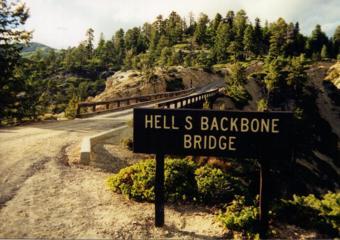 Hell's Backbone Bridge