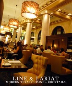 Line & Lariat located in the historic Hotel ICON