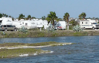 Sea Breeze RV Park Offers Over 140 Sites Several With Bay Front Views