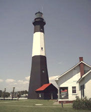 The historic Tybee Island Lighthouse