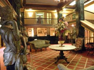 Front Lobby Of The Natchez Eola Hotel