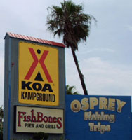 The KOA South Padre Island RV park is a prime location for enjoying the island